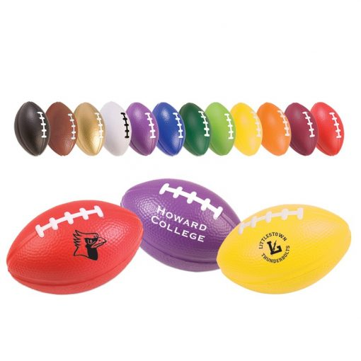 "3"" Football Stress Reliever (Small)"
