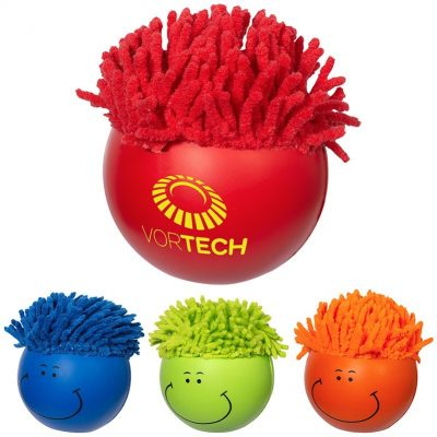 Moptoppers® Solid Colors Stress Reliever